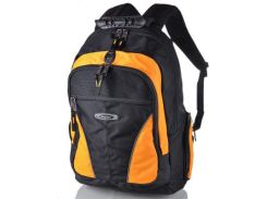 Мужской рюкзак с отделением для ноутбука ONEPOLAR (ВАНПОЛАР) W1077-yellow