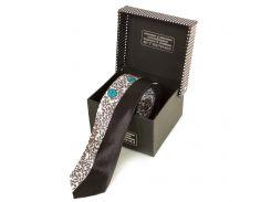 Мужской узкий шелковый галстук ETERNO (ЭТЕРНО) EG619