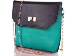 Женская кожаная сумка-клатч VALENTA (ВАЛЕНТА) VBE6095239