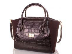 Женская сумка из экокожи и натуральной замши EUROPE MOB (ЮЭРОП МОБ) EM0047-10