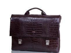 Портфель мужской кожаный с отделением для ноутбука DESISAN (ДЕСИСАН) SHI1315-19-10KR