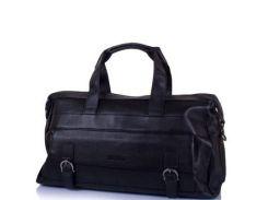 Мужская кожаная дорожная сумка с карманом для ноутбука TOFIONNO (ТОФИОННО) TU8699-black