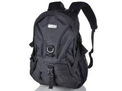 Мужской рюкзак с отделением для ноутбука ONEPOLAR (ВАНПОЛАР) W1309-black