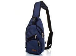 Мужская сумка-рюкзак DNK LEATHER (ДНК ЛЕЗЕР) DNK-JOKER№2-BAG-2