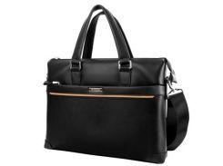 Кожаная мужская сумка с отделением для ноутбука TANMESSO