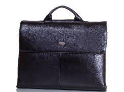 Портфель мужской кожаный с отделением для ноутбука DESISAN (ДЕСИСАН)