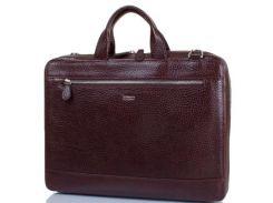 """Мужская кожаная сумка с отделением для ноутбука с диагональю экрана до 12,6"""" DESISAN (ДЕСИСАН)"""