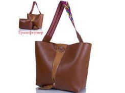 Женская сумка-трансформер из качественного кожезаменителя ETERNO (ЭТЕРНО)