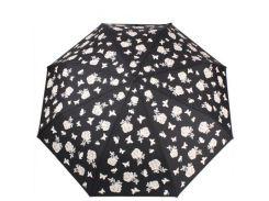 Зонт женский механический компактный облегченный с проявляющимся рисунком FULTON (ФУЛТОН)