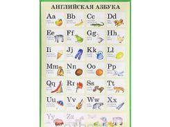 Английская азбука. Плакат, 978-5-8112-2681-8, 9785811226818