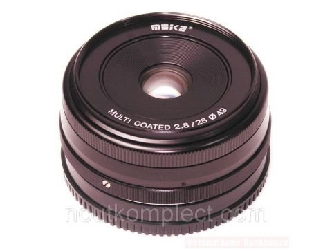 Объектив Meike 28mm f/2.8 MC X-mount для Fujifilm Киев
