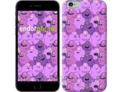 "Чехол на iPhone 6 Принцесса Пупырка. Adventure Time. Lumpy Space Princess v3 ""1228c-45-851"""