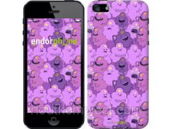 "Чехол на iPhone 5 Принцесса Пупырка. Adventure Time. Lumpy Space Princess v3 ""1228c-18-851"""