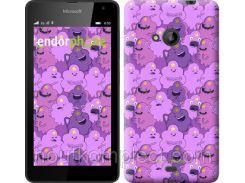 "Чехол на Microsoft Lumia 535 Принцесса Пупырка. Adventure Time. Lumpy Space Princess v3 ""1228u-130-851"""