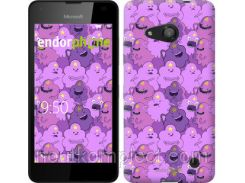 "Чехол на Microsoft Lumia 550 Принцесса Пупырка. Adventure Time. Lumpy Space Princess v3 ""1228u-343-851"""