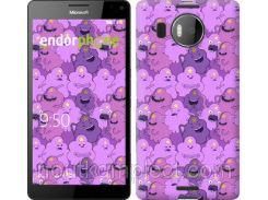 "Чехол на Microsoft Lumia 950 XL Dual Sim Принцесса Пупырка. Adventure Time. Lumpy Space Princess v3 ""1228c-407-851"""
