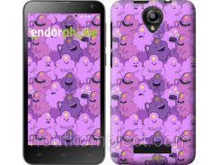 "Чехол на Fly IQ4514 Принцесса Пупырка. Adventure Time. Lumpy Space Princess v3 ""1228u-222-851"""