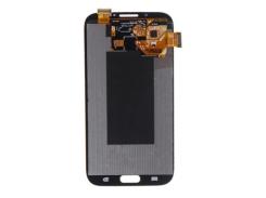 Тач (сенсор) + матрица Samsung Galaxy Note II (N7100) синий модуль