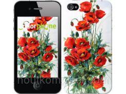 """Чехол на iPhone 4s Маки """"523c-12-851"""""""