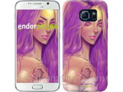 "Чехол на Samsung Galaxy S6 G920 Принцесса Пупырка. Adventure Time. Lumpy Space Princess v4 ""2052c-80-851"""