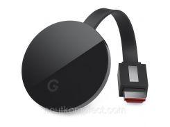 Медиаприставка Google Chromecast Ultra Черный