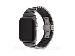 Ремешок ArmorStandart Premium для Apple Watch 42 мм Black (42312)