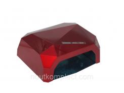LED+CCFL лампа Diamond 36 Вт Красная (1245)