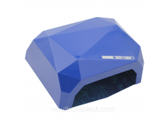 Гибридная УФ лампа для маникюра CCFL+LED 36W Синяя (1341)