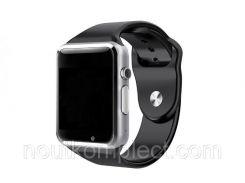 Умные часы Smart Watch UWatch A1 Silver (hub_GfDf79213_my)