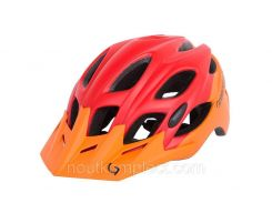 Шолом Green Cycle Enduro 58-61 см Оранжево/Червоний