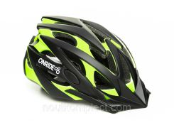 Шолом ONRIDE CROSS 58-61 см Black/green L