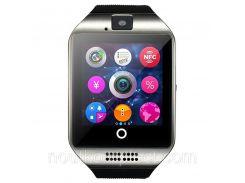 Смарт-часы uWatch Q18 Black-Silver