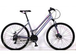"""Велосипед женский Crosser HoriZon Woman Magic Spec 28"""" Серый (20181116V-474)"""
