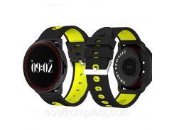 Фитнес-трекер Smart Band CF007 Tonometr Черно-желтый