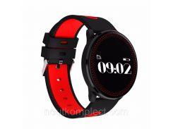 Фитнес-трекер Smart Band CF007 Tonometr Черно-красный
