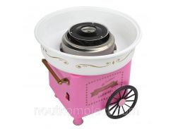 Аппарат для приготовления сладкой ваты на колесиках Cotton candy maker (4479)