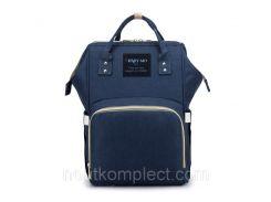 Рюкзак-сумка органайзер Baby-mo для мам синий (655484512)