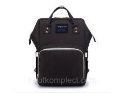Рюкзак-сумка органайзер Baby-mo для мам черный (564654842)