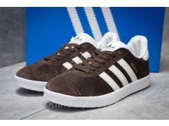 Кроссовки мужские Adidas Gazelle, коричневые (14132),  [  41 42 43 44 45  ]