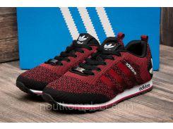 Кроссовки мужские Adidas, красные (2484-4),  [  44 (последняя пара)  ]