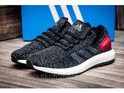 Кроссовки мужские Adidas Ultra Boost M, черные (4258-1),  [  41 42 43  ]
