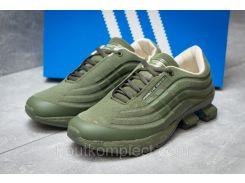 Кроссовки мужские Adidas Porsche Desighn, зеленые (14735),  [  41 42 43 44 45  ]