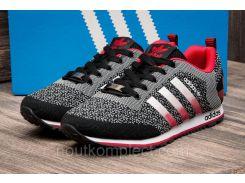 Кроссовки мужские Adidas, черные (2484-3),  [  41 43 44  ]
