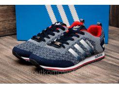 Кроссовки мужские Adidas, синий (2484-2),  [  41 46  ]