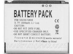 Аккумулятор PowerPlant Samsung G800, S5230 (AB603443CU) 1000mAh