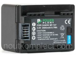 Аккумулятор PowerPlant Canon BP-727 Chip 2685mAh
