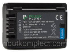 Аккумулятор PowerPlant Panasonic VW-VBY100 900mAh