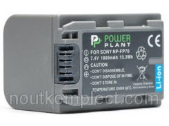 Aккумулятор PowerPlant Sony NP-FP70 1800mAh