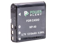 Аккумулятор PowerPlant Casio NP-40 1310mAh