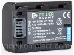 Aккумулятор PowerPlant Sony NP-FH50 1050mAh